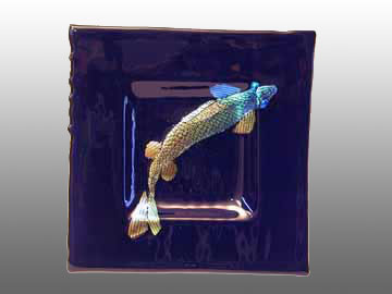 Glass Art Koi